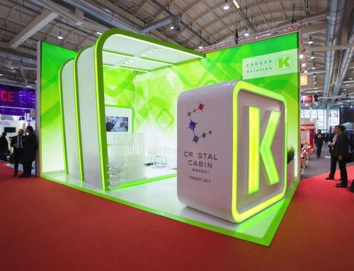 MessestandAircraft Interiors Expo 2018