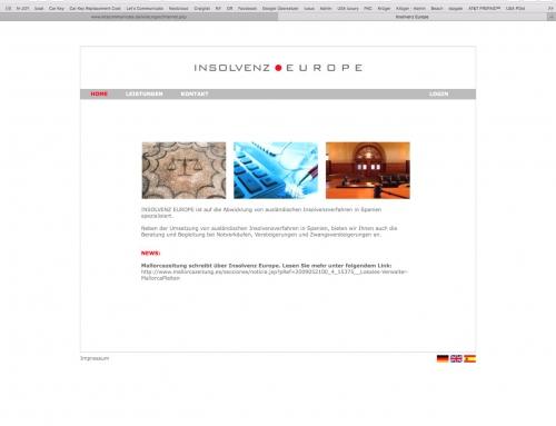 WebseiteInsolvenz Europe